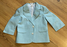 9-12 Months Infant Baby Boy Girl Mint Green Suit Jacket Cardigan Top Warm Winter