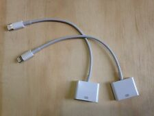 NEW | 2 PACK 8-pin lightning to 30 pin adapter cable for apple iphone/ipad