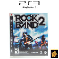Rockband 2  (2008)  Playstation 3 Video Game with Case & Manual Tested Works A+