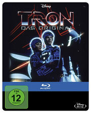 Tron Steelbook JEFF BRIDGES Bruce Boxleitner DAVID WARNER Blu-ray NEUF