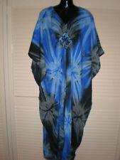 Unbranded Kaftan Long Sleeve Dresses for Women