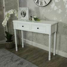 Mesas de color principal blanco dormitorio 60cm-80cm para el hogar