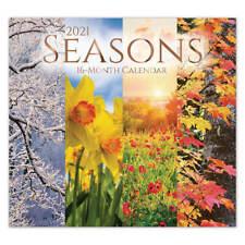 Seasons 2021 16-month Full-size Wall Calendar