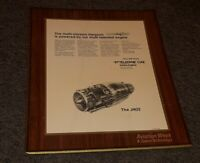 TELEDYNE CAE Harpoon Missile Engine J402 Employee Plaque TOLEDO OHIO FACTORY