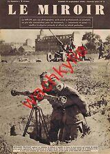 Le miroir n°3 du 19/09/1939 artilleurs polonais flotte de guerre