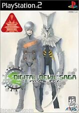 Used PS2 Digital Devil Saga: Avatar Tuner SONY PLAYSTATION 2 JAPAN IMPORT