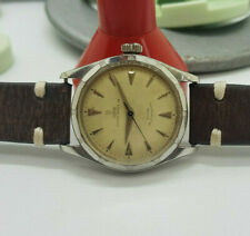 VINTAGE RARE ROLEX TUDOR OYSTER  PRINCE 34 SILVER DIAL AUTOMATIC MAN'S WATCH