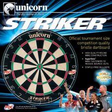 Unicorn Dart-Bristle Board Striker Dartboard Cible à fléchettes (Steel-Dart) Neuf