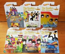 Hot Wheels THE BEATLES YELLOW SUBMARINE Complete set of 6 (1st Rel. 2016) (A+/A)