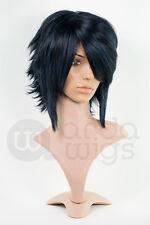 Heat-resistant Sasuke Naruto Layered Natural Thick Anime Cosplay Wig