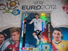 Adrenalyn XL Euro 2012 limited edition Mesut Ozil Deutschland Mesut Özil