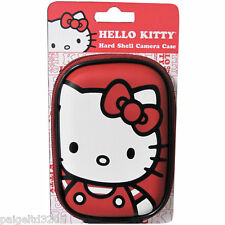 Sakar Sanrio Hello Kitty Hard Shell Camera Case - Red