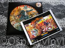 Elton John Captain Fantastic LP Picture Disc Die Cut sleeve Signed poster Print