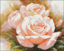 Needlework Crafts Embroidery DIY Counted Cross Stitch Kits Roses II