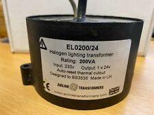 Waterproof Lighting Transformer 200va 230v to 24v EL0200/24 20 Available £30 !!