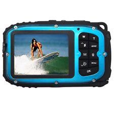 16MP underwater digital video camera, 30ft waterproof, dustproof, freezepro G4E1
