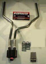 2007 2014  silverado Sierra Dual Exhaust W/ Flowmaster Super 10 series muffler