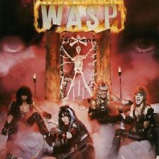 W.A.S.P. Wasp Vinyl LP Cover Sticker or Magnet '80's Hair Metal