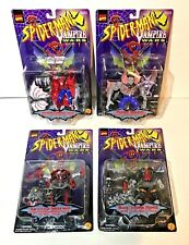 Marvel Spider-Man Vampire Wars Action Figure Lot of 4 Vampire Spider-Man Blade