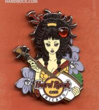 Hard Rock Cafe Chicago Anime Girl Series 2016 Pin