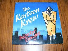 "Kartoon  Krew   Inspector Gadget / I. Gaget (Dub Version) Original 1985 7"" Vinyl"