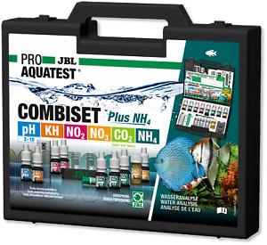 JBL ProAqua Test CombiSet Kit w NH4 Freshwater Aquarium water lab case combi set