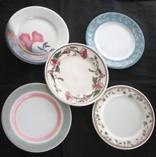 Vintage Restaurant Ware 5 pc Bread & Butter Plate Lot 2