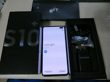 Samsung Galaxy S10+ SM-G975U 128GB Single SIM Verizon Smartphone - Prism Black