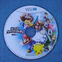 Super Smash Bros Wii U - Nintendo Wii U DISC ONLY