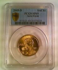 2005-D Sacajawea Native American Dollar PCGS SP69