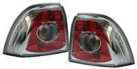 CRYSTAL CLEAR REAR TAIL LIGHTS FOR OPEL VECTRA B 1/1999-3/2002 MODEL NICE GIFT