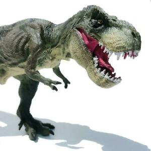"12"" Large Tyrannosaurus Dinosaur Toy Educational Model Birthday For Kids C7X3"