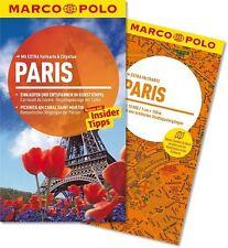 !! Paris 2014 UNGELESEN Reiseführer mit Karte Marco Polo Frankreich Louvre