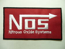 Embroided Patch..... N O S Nitrous