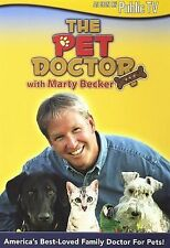 The Pet Doctor with Marty Becker (DVD, 2007) Brand New
