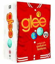 GLEE 1-4 THE COMPLETE COLLECTION SEASON 1 2 3 4 DVD BOX ENGLISCH