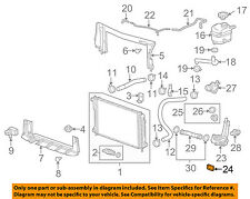 GM OEM Radiator-Thermostat Housing Seal 90537471