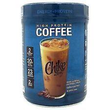 Chike Nutrition High Protein Iced Coffee Original Espresso Gluten- Whey