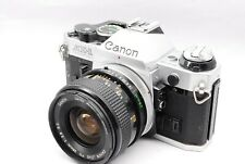 【Excellent+++++】Canon AE-1 Program 35mm Camera w/ FD 28mm f/2.8 S.C. from Japan