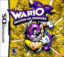 Wario Master Of Disguise NDS New nintendo_ds