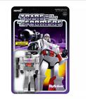 Super7 ReAction Transformers Chrome Commander Megatron Figures EXCLUSIVE NEW