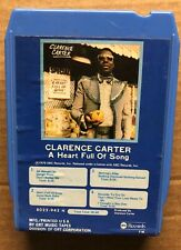A Heart Full Of Song 8 Track Tape By Clarence Carter