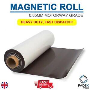 MAGNETIC SHEET SIGN VINYL 0.85MM MOTORWAY GRADE VEHICLE- A2 SHEET 420MM X 597MM