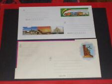 2 x Ganzsache Brief Burma Myanmar ** postfrisch 2014 2015 Postal Stationery