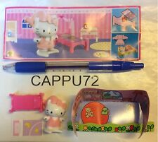 HELLO KITTY-STANZA DA LETTO+CARTINA FF330  logo grande-Kinder sorpresa Italia