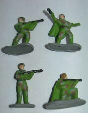 Star Wars ROTJ Micro Machines Endor Rebel Strike Trooper Team 4 Figure Lot W