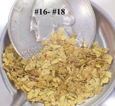 GOLD NUGGETS 7+ GRAMS Alaska Natural Placer AK #16-#18 Mesh Jewelers