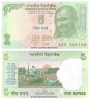 India 5 Rupees 2011 P-101 Banknotes UNC