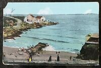 Ladies Bathing Place Portrush Postcard Northern Ireland