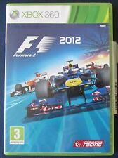 XBOX 360 formula 1 2012